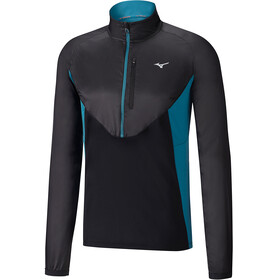Mizuno Static BT Running Shirt longsleeve Men blue/black